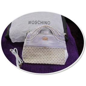 Bolso Moschino.nuevas Y Originales,de Moda Y Mejor Precio