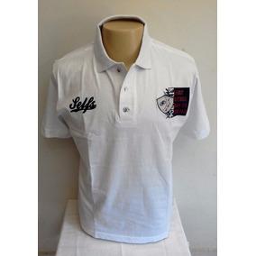 6e6f618a5b Camisa Gola Polo Malha Algodão Listrada E Lisa Varias Cores