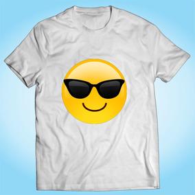 a412f229053d6 Camisa Emoji Óculos Sol Whatsapp - Engraçada - Divertida