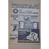 Fanzine Revisteria Comics Press N 4 2008 Historieta