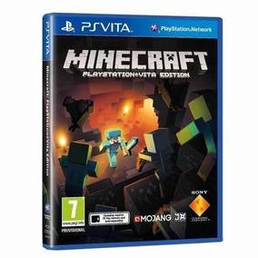 Minecraft Psvita - Versão Física Só Aqui! Lacrado De Fábrica