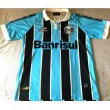 Camisa Grêmio 2013 Autografada Kleber Gladiador