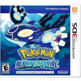 Videojuego Pokemon Alpha Sapphire Nintendo 3ds Gamer