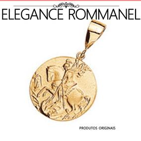 Pingente Medalha De São Bento Rommanel - Pingentes de Ouro no ... 6913c1e862