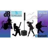 Bocina Bluetooth Es-503 Db Technologies, 900 W