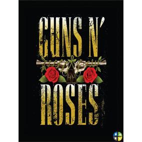 Quadro Poster Guns N Roses Gnr Rock Modelo 2 Com Moldura A3