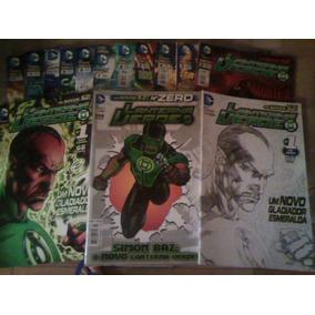 Lanterna Verde - Os Novos 52 - 1 Ao 52 + Zero + Extras