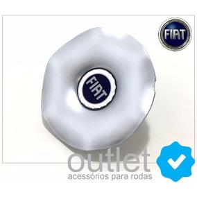 Calota Tampa Miolo Centro De Roda Fiat Marea Sw Emblema Azul