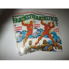 Grandes Heróis Marvel Nº 12 Quarteto Fantástico 1986