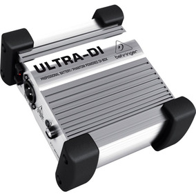 Direct Box Behringer Ultra Di100 Prata