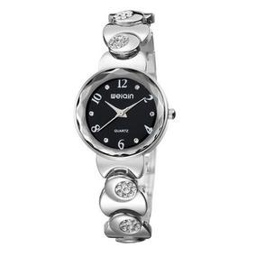 5e89ed6e9d7 Relógio Feminino Weiqin Analógico Casual Preto W4763-3