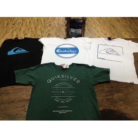 Outlet Camisetas Onbongo   Quiksilver - Calçados, Roupas e Bolsas no ... a0b6dfaee0