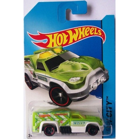 Rescue Duty Hot Wheels City T-hunt 2014 47/250 Bfc62 1:64