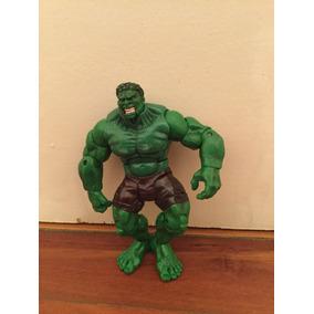 Boneco Hulk Marvel Articulado Hasbro Edição 2002 16 Cm Raro