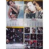 Calendario Poster Metal Hammer 2001