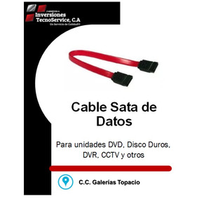 Cable Sata Datos Para Pc Dvr Dvd Disco Duro Y Otros