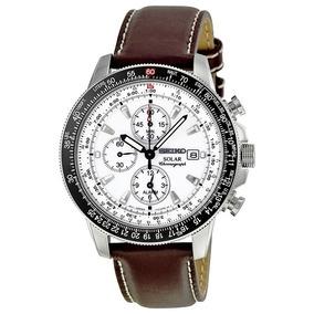 9a24ab7716a Relógio Seiko Ssc013 Solar Flight Sport Cronografo Original. R  2.579