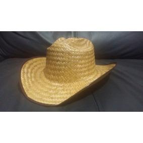 10 Sombrero Texano Palma Adulto Barato Fiesta Boda Batucada 1a6bfbb3856