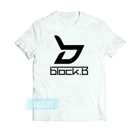 Camiseta Block B Trap K-pop Grupo Corea Team Camisa  1 9221781360d