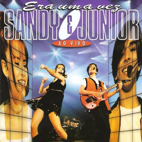 Cd Lacrado Sandy E Junior Era Uma Vez Ao Vivo 1998