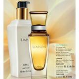 Perfume + Locion Perfumada Liasson Mujer Lbel Nuevo Sellado