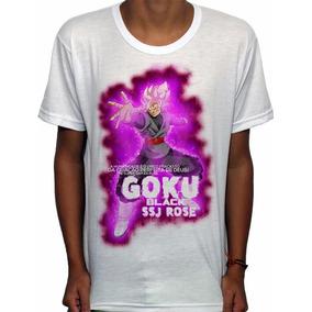 Camisas De Animes Rose God Black Goku - Dragon Ball Super 0fc35a05c5d