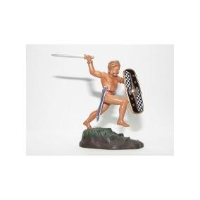 Soldado Chumbo Roma Antiga Guerreiro Celta Barbaro Tribal