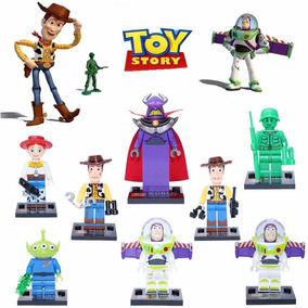 Kit Toy Story Woody - 8 Bonecos - Pronta Entrega