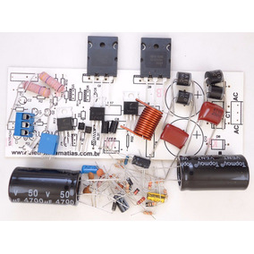 Kit Para Montar Amplificador De 150w