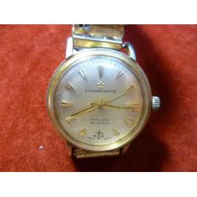 Antiguo Reloj Automatico Eterna Matic.