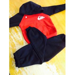 b9ad82e51731d Quiksilver Conjunto Infantil Casaco Blusa Moletom Personaliz