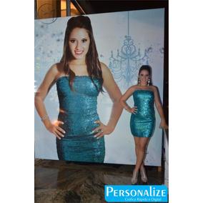 Mega Banner 15 Anos Lona Com A Foto Personalize 1,00x2,00