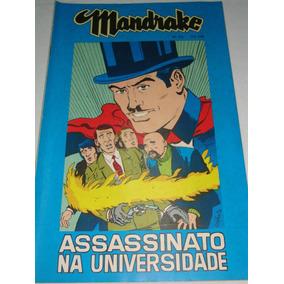 Mandrake Nº 215 De 1974 Cores Assassinato Universidade Rge