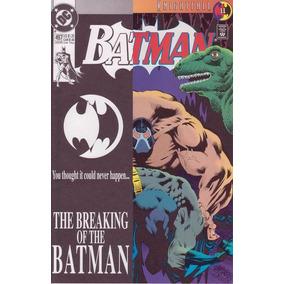 Batman #497 Jul De 1993 Dc (importado) 9.6 Bane