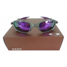 Juliet 24k Lente Roxa - Óculos De Sol Oakley Juliet no Mercado Livre ... 36f825a9c5