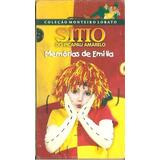 Vhs Sitio Do Picapau Amarelo - Memorias De Emilia ( Lacrado)