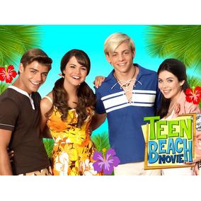 Kit Imprimible Teen Beach Movie Disena Tarjetas Cumples Mas