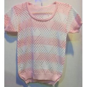 Como Hacer Remeras Caladas A Crochet - Remeras Manga Larga Rosa ... 2db17e1ff9081