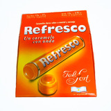 Caramelos Refresco Naranja 12 Paq - Barata La Golosineria