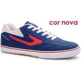 Chuteiras Topper de Futsal para Adultos Azul no Mercado Livre Brasil c4a57212d1405