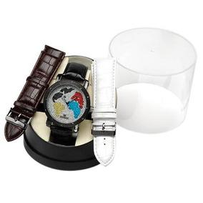 Reloj Ice Maxx Para Hombre, Con 12 Chispas De Diamante Sp0