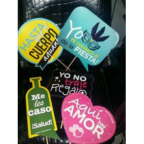Letreros Foto Cabina Boda Eventos Impresos Carton Xv Despedi