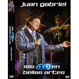 Juan Gabriel 40 Bellas Artes 1 Dvd + 2 Cds