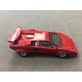 Carro Miniatura Metal Lamborghini + Ficha Auto Collection