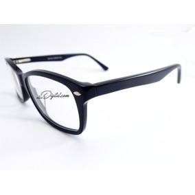 Armação Óculos De Grau Quadrada Grande Preto Feminino Mba044 · R  99 90 7c5394bb17