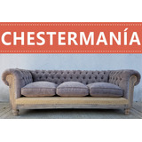 Sofa Chester Chesterfield Deconstructed Pana O Lino De 2.00m