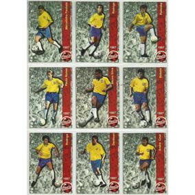 Futcards Coca-cola 1997 - 52 Cards - Coleção Raridade