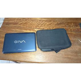 Carcaça Netbook Sony + Bateria+placa Mãe