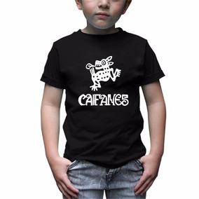 Caifanes Playera Rock Infantil Niño Niña -envío Gratis