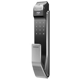 Cerradura Samsung P718lbk/en Push (biometrica/clave/tarjeta)